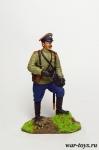 Поручик - Оловянный солдатик коллекционная роспись 54 мм. Все оловянные солдатики расписываются художником в ручную
