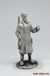 Кузьмич - Не крашенный оловянный солдатик. Высота 54 мм.