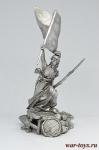 Свобода - Не крашенный оловянный солдатик. Высота 54 мм.