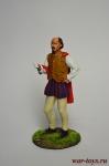 Шекспир - Оловянный солдатик коллекционная роспись 54 мм. Все оловянные солдатики расписываются художником вручную