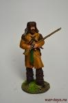 Траппер - Оловянный солдатик коллекционная роспись 54 мм. Все оловянные солдатики расписываются художником вручную
