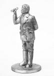 Швондер - Не крашенный оловянный солдатик. Высота 54 мм.