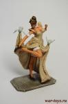 Золушка - Оловянный солдатик коллекционная роспись 54 мм. Все оловянные солдатики расписываются художником вручную
