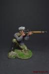 Снайпер - Оловянный солдатик, роспись 54 мм. Все оловянные солдатики расписываются художником вручную