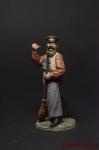 Дворник - Оловянный солдатик коллекционная роспись 54 мм. Все фигурки расписываются художником вручную