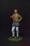 Шекспир - Оловянный солдатик коллекционная роспись 54 мм. Все фигурки расписываются художником вручную