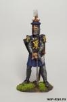 Людовик 6 Святой Король Франции 1270 г. - Оловянный солдатик коллекционная роспись 54 мм. Все оловянные солдатики расписываются художником в ручную