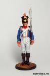 Фузилер 61-го линейного полка. Франция, 1812-14 гг.