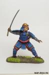 Самурай - Оловянный солдатик коллекционная роспись 54 мм. Все оловянные солдатики расписываются художником в ручную