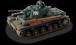 Тяжелый танк КВ-1 (масштаб 1:32)