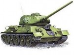 Советский средний танк Т34/85.