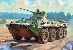 Российский БТР-80А.