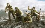 Немецкие горные стрелки «Эдельвейс»