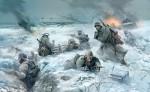 Немецкая пехота в зимней форме