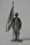 Офицер-знаменосец альпийских стрелков. Италия, 1943-45 гг.
