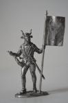 Швейцарский знаменосец кантона Ури, 15 век