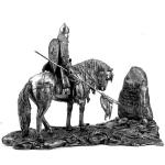 Витязь на распутье, середина 13 века. Металл Kit