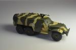 Русские танки, журнал №44 с моделью БТР-152