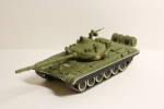 Русские танки №1, журнал с моделью Т-72 (масштаб 1:72)