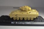 """Танки мира, журнал №18 с моделью M2A1 """"Bradley"""""""