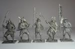 Набор оловянных солдатиков - Япония