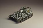 Русские танки №77 СУ-76 (только модель)