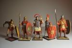 Набор оловянных солдатиков - Рим (полу коллекционный окрас)