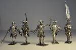 Набор оловянных солдатиков - Семиле́тняя война́
