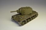 Русские танки, журнал №11 с моделью КВ-2 (только модель)