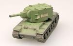 Модель танка КВ-2 зеленый камуфляж