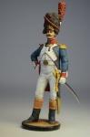 Офицер гвардейских пеших гренадер. 1809г. Франция.