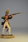 Гренадер Фридриха Великого в атаке
