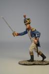 Фрацзуский пеший артилерист в атаке