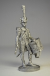 Барабанщик гренадерской роты  линейного полка. Франция, 1809-12