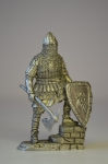 Тяжеловооруженный русский воин, 14 век