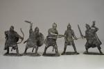 Набор оловянных солдатиков - Русские воины