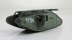 Танки мира, журнал №34 с моделью Британский танк Mk IV Ромб