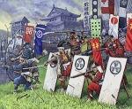 Самураи пехота XVI - XVII н.э. 1/72