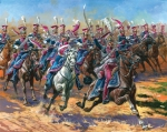 """""""Гвардейские польские уланы 1809-1815"""", 1/72"""