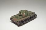 Советский танк КВ-1 модель 1942 года