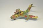 Самолёт МиГ-15 УТИ, красный №54
