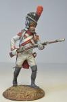 Пехотинец старой императорской гвардии в атаке