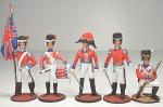 Набор оловянных солдатиков - Англия 1812г.