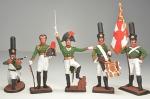 Набор оловянных солдатиков