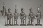 Набор оловянных солдатиков - Наполеоновские войны 1812 гг.