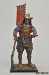 Самурай в походе, 16 век