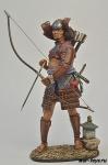 Самурай-лучник, 16 век.