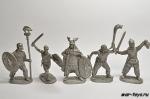 Набор оловянных солдатиков - Галлы 40 мм.