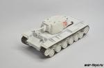 Русские танки №70  с моделью КВ-1
