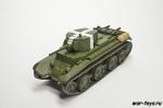 Русские танки №74 БТ-7. (только модель)